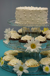 Wedding Cake & Cupcakes | by Food Librarian
