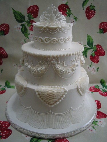 Royal icing Wedding cake 2 | by JILL's Sugar Collection