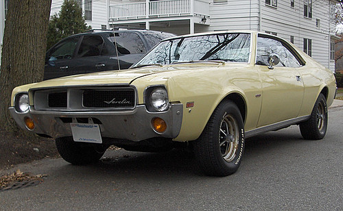 1969 Amc Javelin This Javelin Was Repainted Maroon At