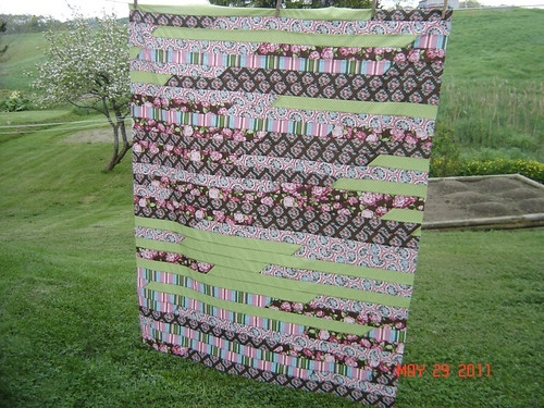 Erin Wilson - 1 Choice 4 Quilting Jelly Roll Race | by Shawna 1Choice4Quilting.com
