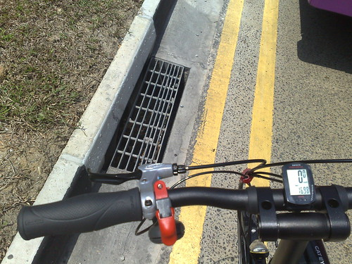 Bicycle Commuting: Watch out for grills | by mr brown