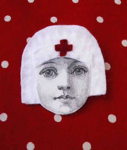 Nurse brooch | by La Baleine a Plumes