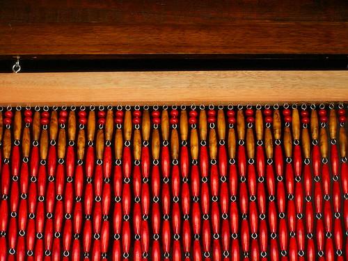rideau proven al en perles de buis rideaux buis. Black Bedroom Furniture Sets. Home Design Ideas