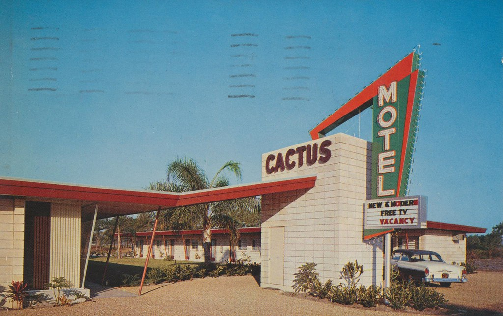 Cactus Motel - St. Petersburg, Florida
