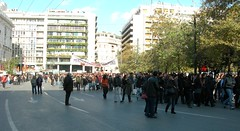 10-12-2008 14:03:28 Protest in Athens | by endiaferon