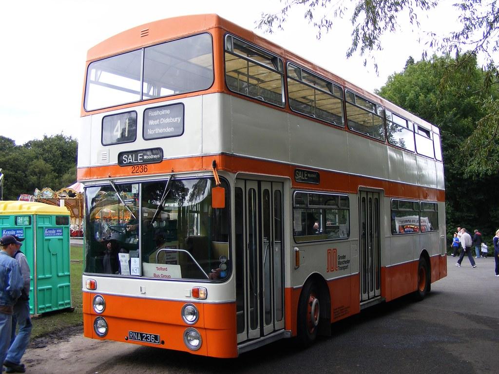 ... Daimler Fleetline CRG6LXB-33/Park Royal 2236 RNA236J SELNEC PTE | by  emdjt42
