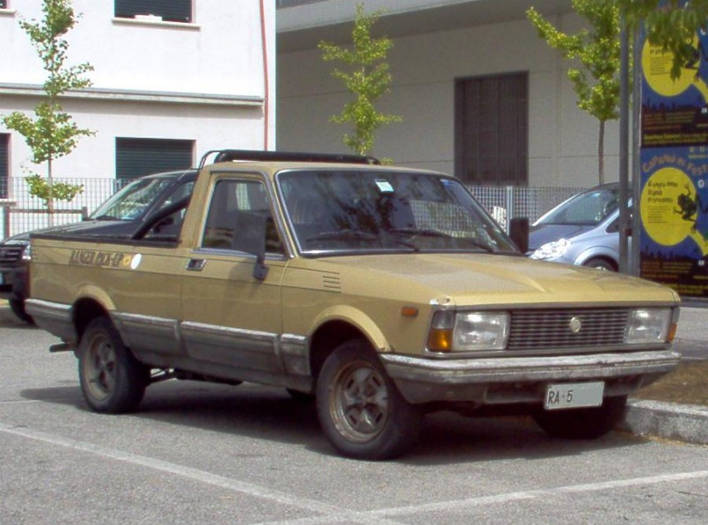 Fiat Argenta Pickup 25 D 1983 Eurobilltracker Flickr