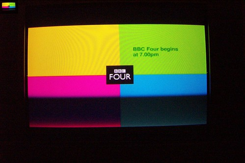 BBC FOUR Digital tv Test Card | -SAD-