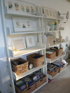 Media / Display shelf | by almostbunnies