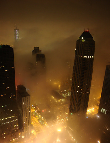 Foggy Chicago @ Chicago & Michigan Ave. | by doug.siefken
