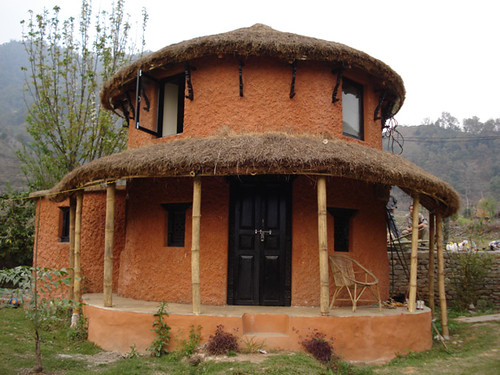 Round House Goal Ghar Traditional Nepali Round House