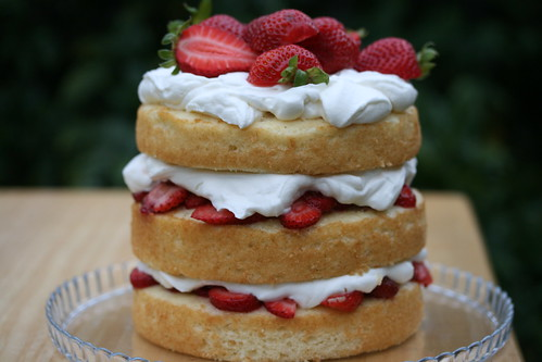 Sky-High Strawberry Shortcake | by Food Librarian