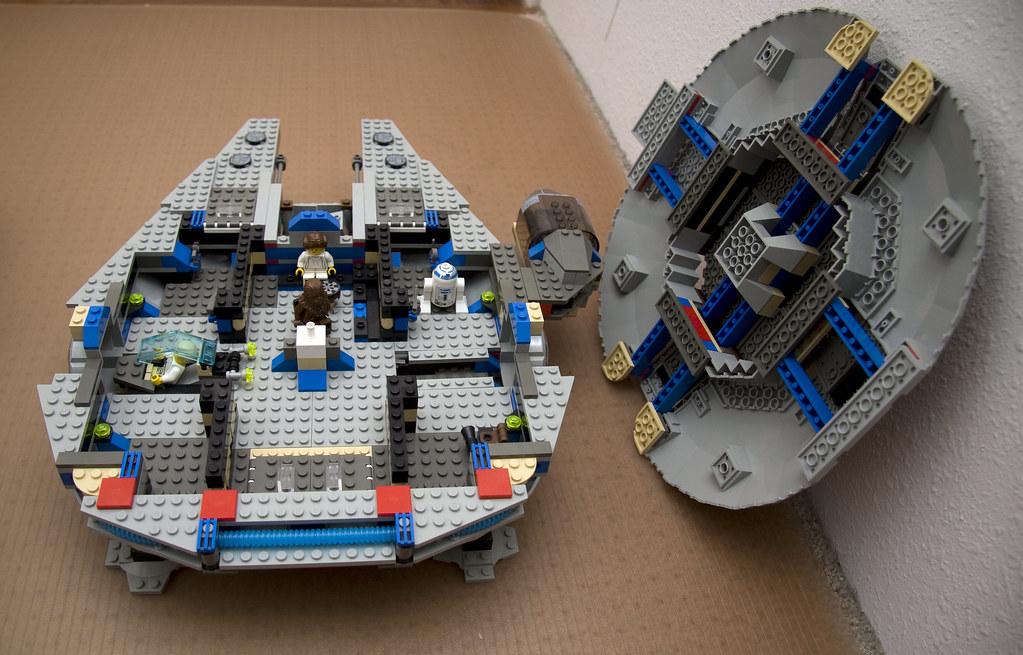 Starstreak007 7190 Lego Millennium Falcon