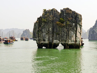 La baie de Ha Long, merveille du monde | by @necDOT