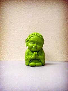tiny green buddha. | by (Kerry Ball)