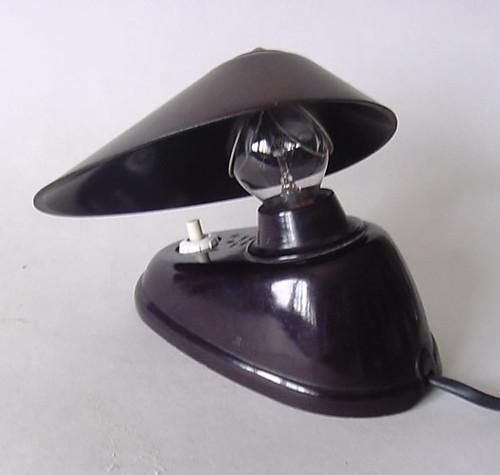 Vintage Bakelite Lamp   Definitively 50s Space Design Era Th…   Flickr