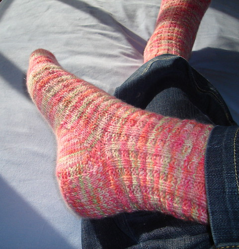 Plushness Harris Tweed Socks | by GreenPea6