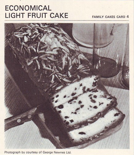 Standard Fruit Cake Recipe