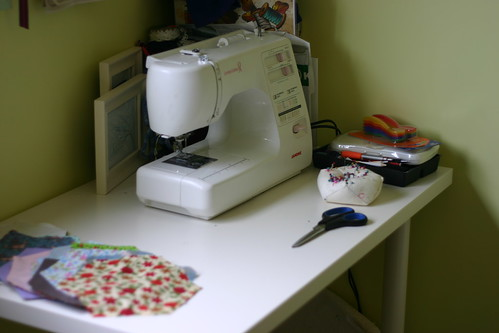 My sewing desk | by Not Charming