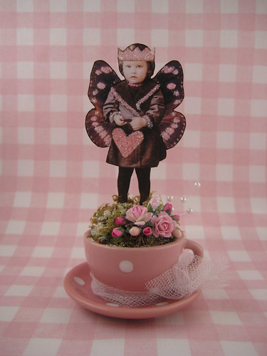 Teacup Fairy~Bringing You Love | by gossamercreations