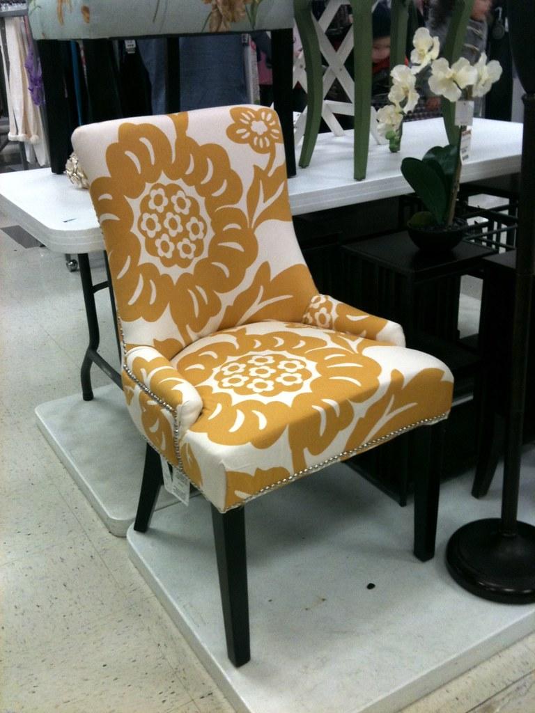 ... Yellow Chair, TJ Maxx   By Meredithheard