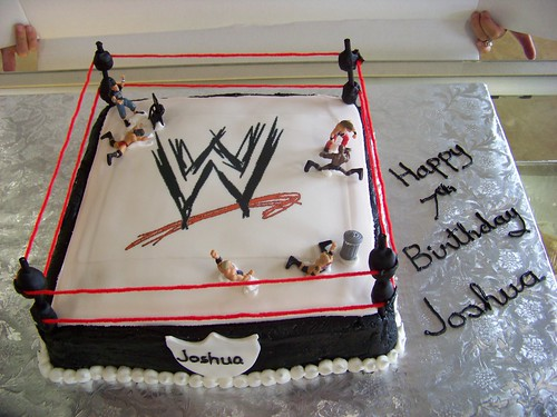 WWE Birthday Cake | by tc27jkw