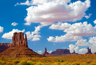 Monument Valley and Clouds | by theavonne