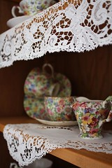 lace & chintz | by Romantic Home