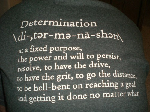 Determination (Credits: Dana Lookadoo / FlickR)