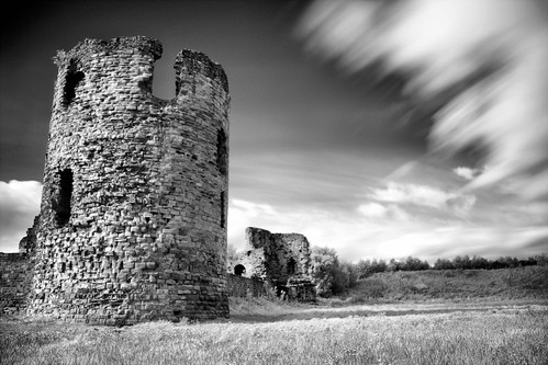 Flint Castle IR | by Dune_UK
