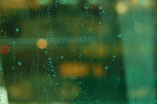 Rain on Office Window | by mikeygibran