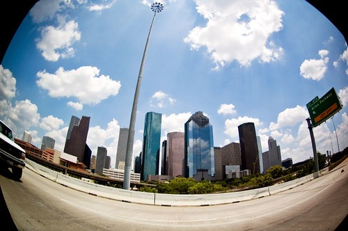 downtown htown | by flicka23