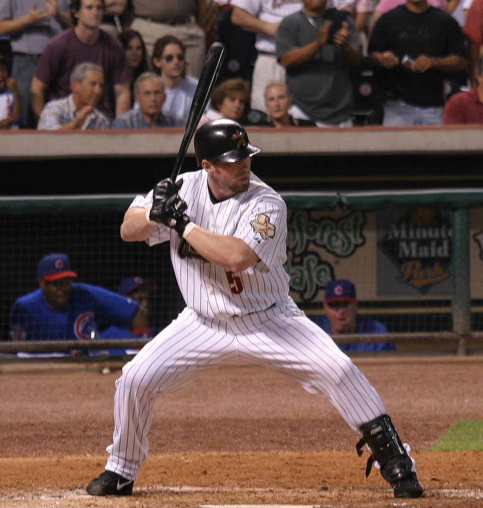 Jeff Bagwell #5 - Photo by Christopher Ebdon