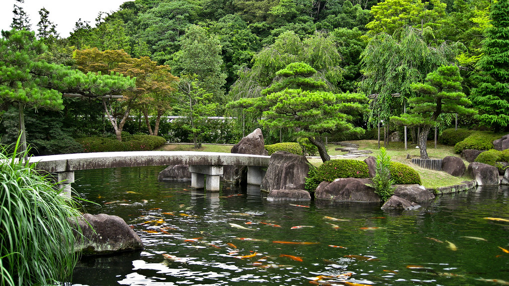 japanese garden koi pond by mclain5798 - Japanese Koi Garden