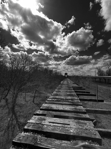 Old bridge over the Brazos | by Lee Kindness