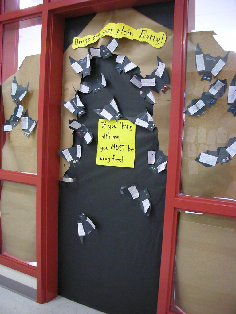 Door Decorations For Red Ribbon Week Drugs Are Just Plain Flickr