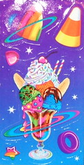 Lisa Frank Ice Cream Stickers | by magicsparklebean