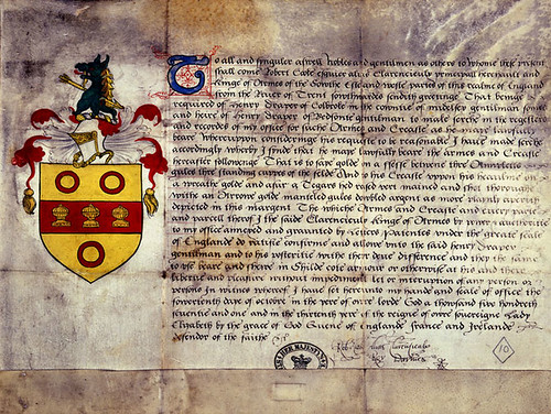 Grant of Arms | by The National Archives UK