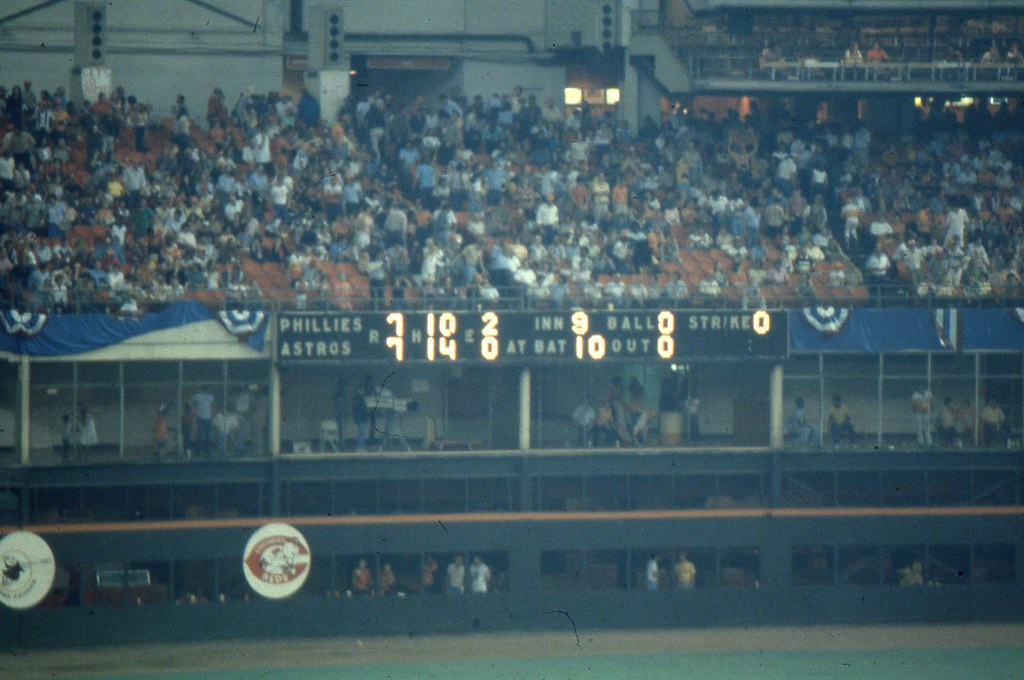 Astros And Phillies 1980 NLCS Final Game 6