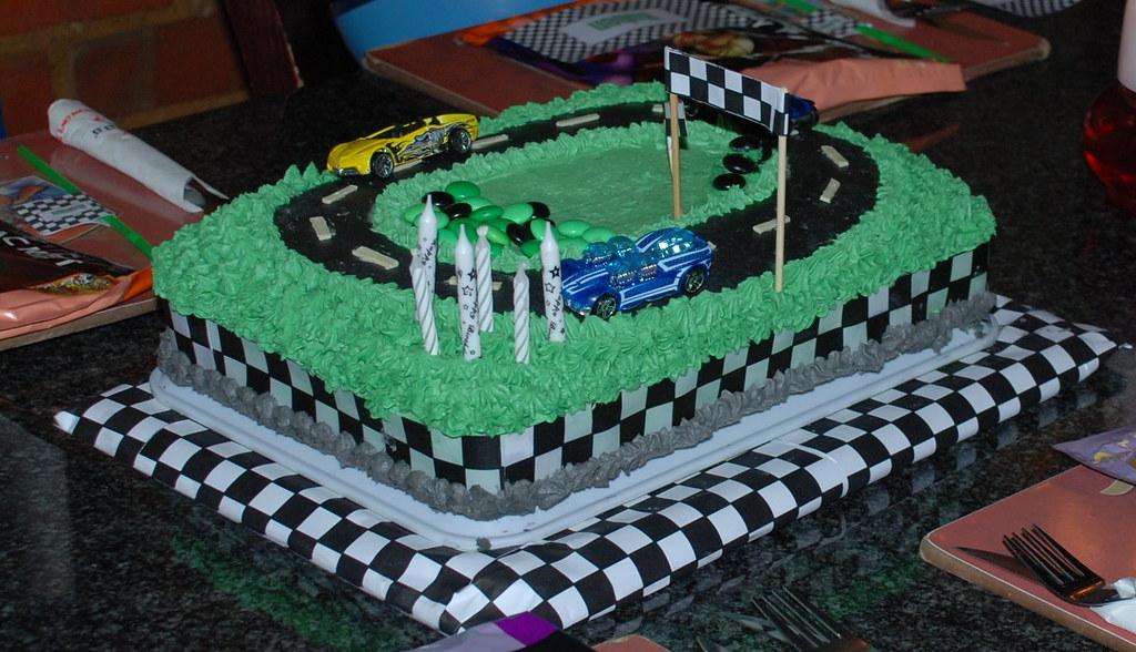 Hot Wheels Cake Nascar Birthday Walmart Unique