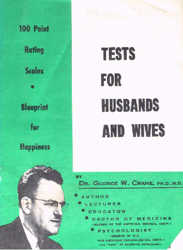 Tests for Husbands and Wives | by Tiabla
