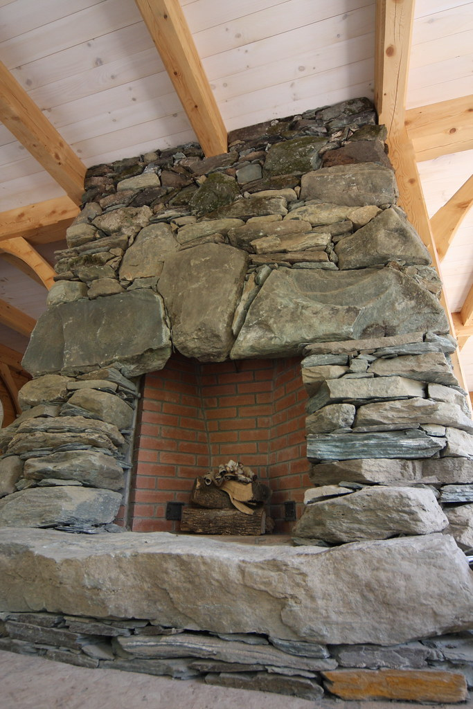 Fieldstone Fireplace Stonework By Rising Stone Rising Stone Flickr