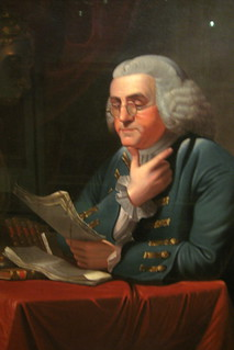 Philadelphia - Old City: Second Bank Portrait Gallery - Benjamin Franklin | by wallyg