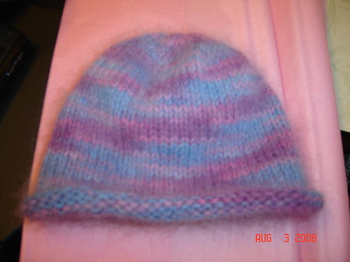 Baby Purl Beanie | by RockyMoreno