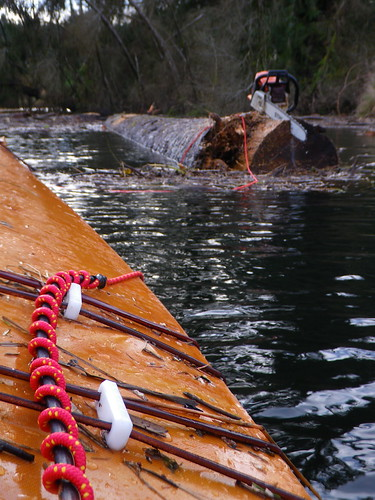 towing the log | by red alder ranch