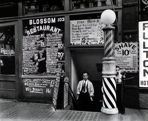 Blossom Restaurant, 103 Bowery, Manhattan. | by New York Public Library