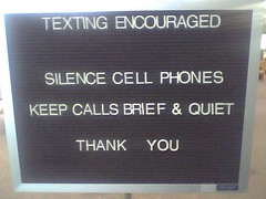 Texting Encouraged | by thegloaming