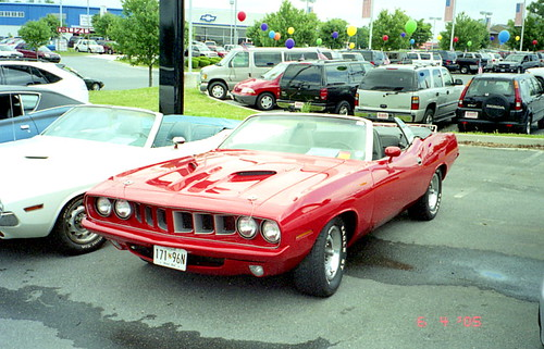 1971 Plymouth Barracuda Convertible Chrysler Product