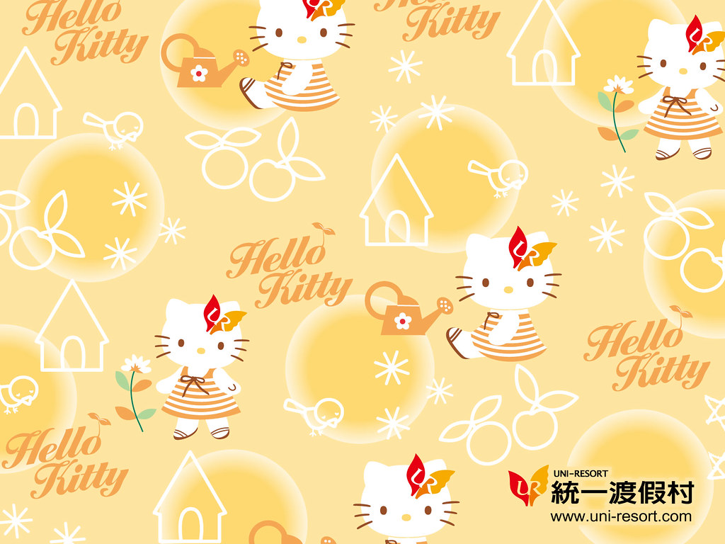 Wallpaper Hello Kitty Uni Resort Www Uni Resort Com Tw Kt Flickr