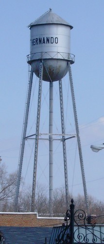 Hernando, Mississippi Water Tower | by courthouselover